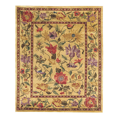 Capel Rugs Panama Orchids 8x9 Amber 1770_100
