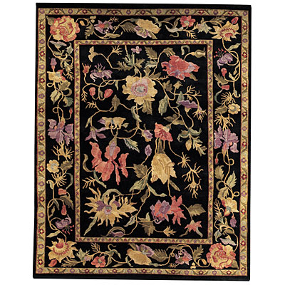 Capel Rugs Panama Orchids 2x3 Midnight 1770_350