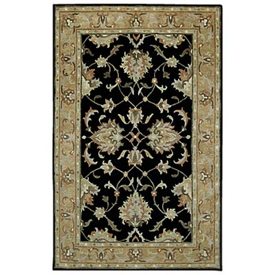 Capel Rugs Tibetan Treasures 7 x 9 Black 1390_350