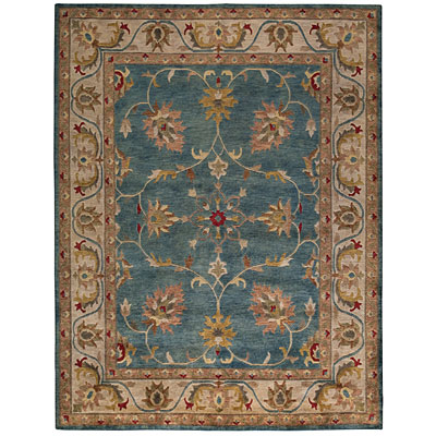 Capel Rugs Tibetan Treasures 7 x 9 CoolTurqoise 1390_400