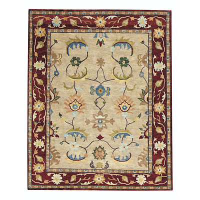 Capel Rugs Tibetan Treasures 4 x 5 Oatmeal 1390_750