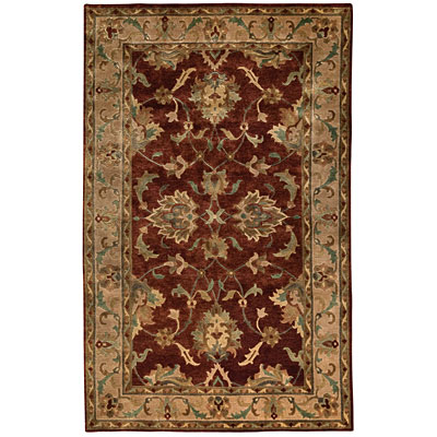 Capel Rugs Tibetan Treasures 7 x 9 Persimmon 1390_800