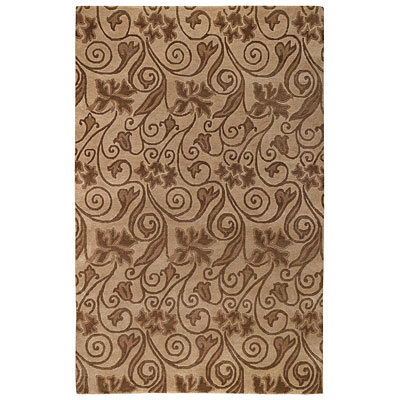 Capel Rugs Tibetan Treasures 4 x 5 Taupe 1390_725
