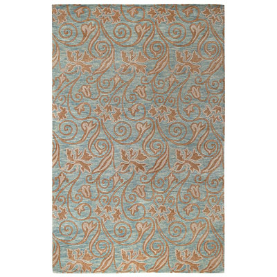 Capel Rugs Tibetan Treasures 4 x 5 Wedgewood 1390_425