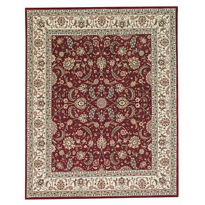 Capel Rugs Burma Silk- Kashan 9x11 Red 2507_550