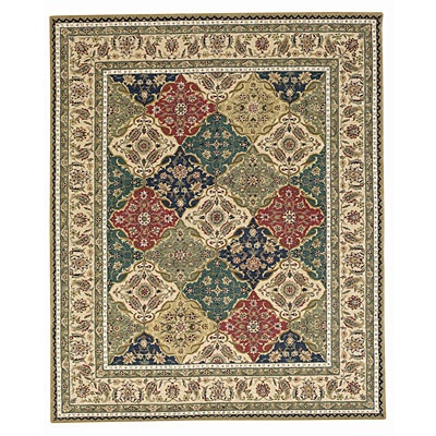 Capel Rugs Burma Silk- panel 6x8 Multi 2509_ 900