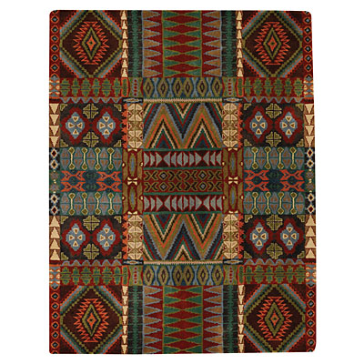 Capel Rugs Great Plains 5 x 8 Multi 3055_950