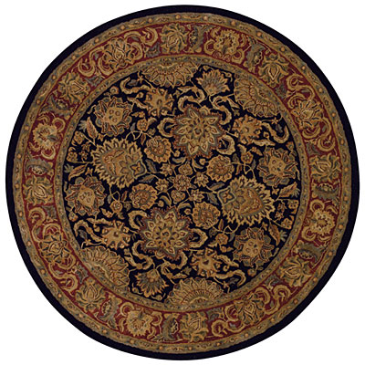 Capel Rugs Kaimuri-Agra 6 ft round Black 9282_300