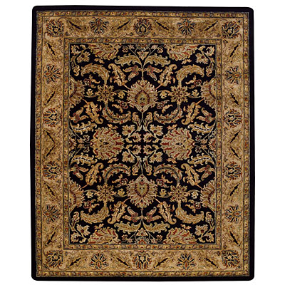 Capel Rugs Kaimuri-Floral Scroll 4 x 6 OnyxChampagne 9294_350