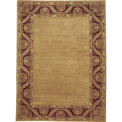 Capel Rugs Loire 7 x 9 GoldBurgundy 3850_150