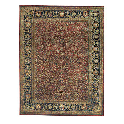 Capel Rugs Mahal-Floral 3x5 Burgundy 575_3861