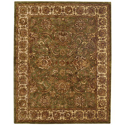 Capel Rugs Mahal-Palmette 9x13 LightGreen 3866_200