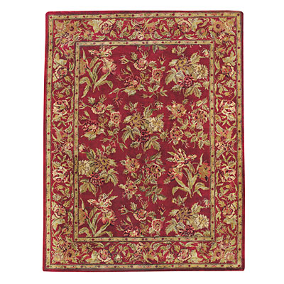 Capel Rugs Marthas Vineyard 8x11 ImperialRed 9250_575