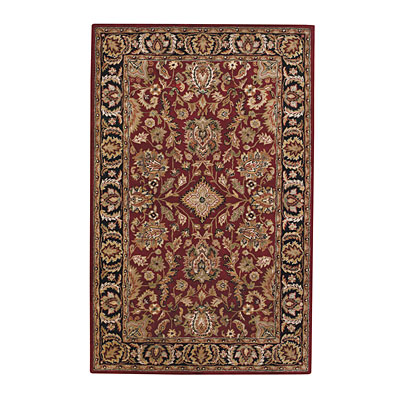 Capel Rugs Regal - Fereghan 7 x 9 Garnet 3347_ 530