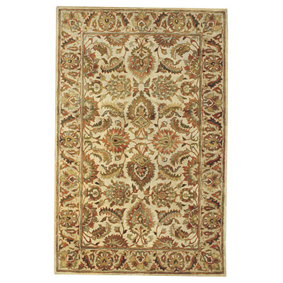 Capel Rugs Regal - Isfahan 7 x 9 CreamBeige 3351_ 600