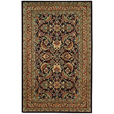Capel Rugs Regal - Keshan 7 x 9 Dark Chocolate 3350_775