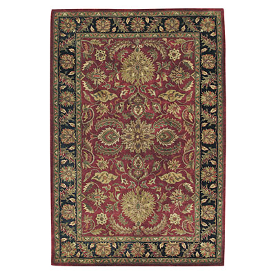 Capel Rugs Regal - Palmette 7 x 9 Red 3352_550