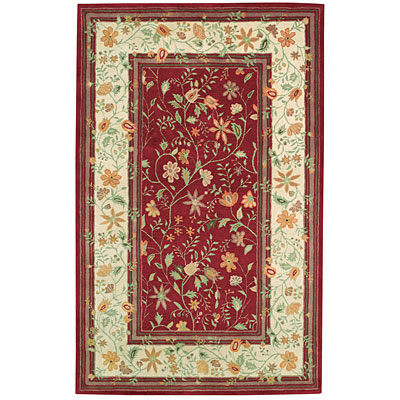 Capel Rugs Regal - Promenade 7 x 9 Cinnabar 3345_525