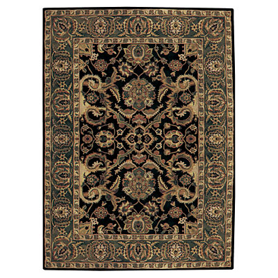 Capel Rugs Regal - Tabriz 7 x 9 Black 3363_350
