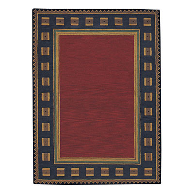 Capel Rugs Riverwood 5 x 8 Red 9233_550