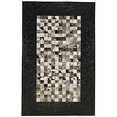 Capel Rugs Chapparral - Cowhide 4 x 6 Black 3227_300