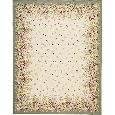 Capel Rugs English Garden 2 x 3 Celedon 2167_210