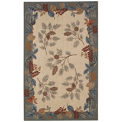 Capel Rugs Fall foliage 2 x 3 Eggshell 6021_600