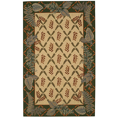 Capel Rugs Fern forest 5 x 8 Sand 6022_700