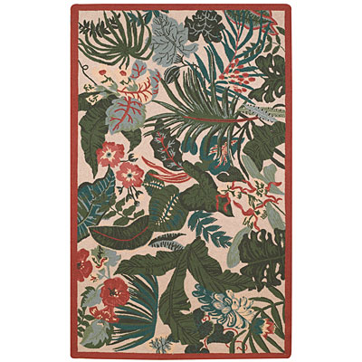 Capel Rugs Tropicale 3 x 5 Leaves 6027_650