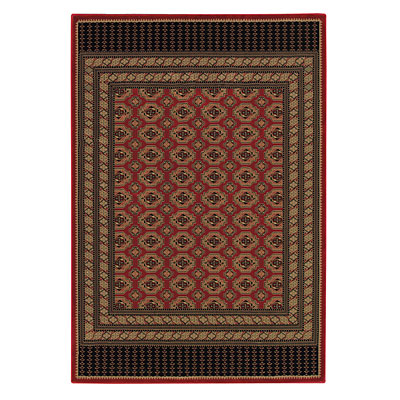 Capel Rugs Belmont - Bohkara 4 x 5 Red 2381_350