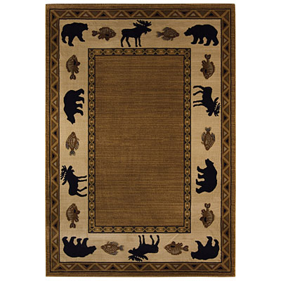 Capel Rugs Cabin Retreat 8x10 Praline 2365_750