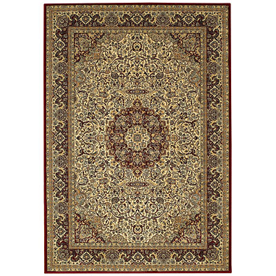 Capel Rugs Estates - Ispahan 4 x 5 Ivory 3530_600