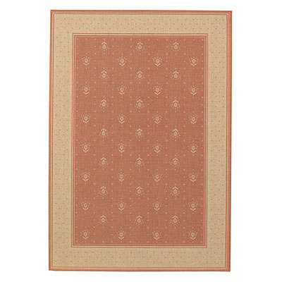 Capel Rugs Finesse - Bouquet 5 x 8 TerraCotta 4701_800