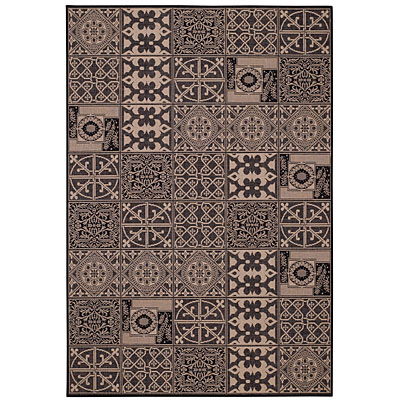 Capel Rugs Finesse - Elements 5 x 8 Black 4707_350