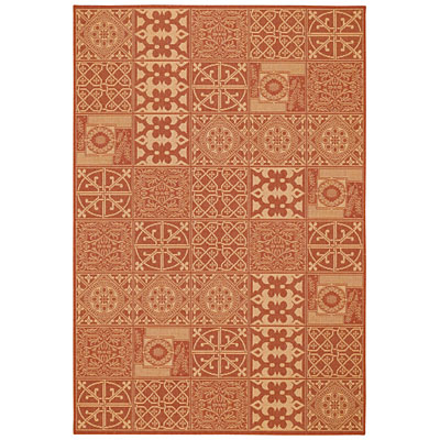 Capel Rugs Finesse - Elements 5 x 8 TerraCotta 4707_800