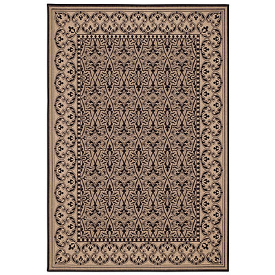 Capel Rugs Finesse - Filigree 5 x 8 BlackPearl 4708_350