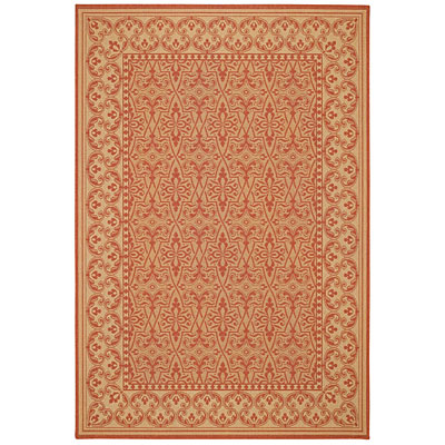 Capel Rugs Finesse - Filigree 5 x 8 TerraCotta 4708_800