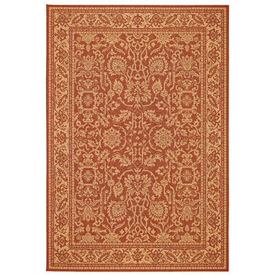 Capel Rugs Finesse - Peonies 2 x 3 TerraCotta 4709_800