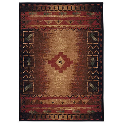 Capel Rugs Fresh Air 4 x 5 BrownMulti 2366_750
