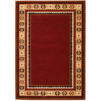 Capel Rugs High Plains - Aspen 5 x 8 Rouge 2360_550