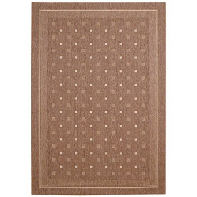 Capel Rugs Seabreeze - Abstract 4 x 6 CocoaCream 3549_750