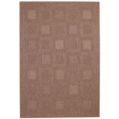 Capel Rugs Seabreeze - Blocks 5 x 8 Cocoa 3546_750
