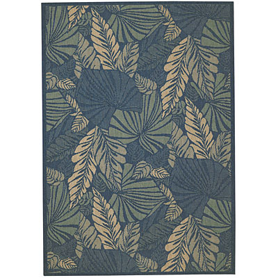 Capel Rugs Seabreeze - Palms 4 x 6 Denim 3561_450