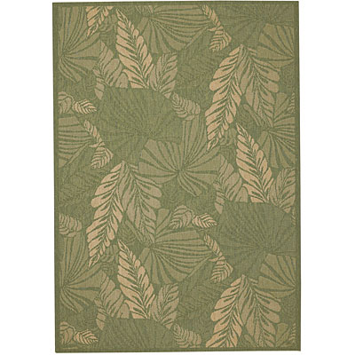Capel Rugs Seabreeze - Palms 8 x 10 Spruce 3561_250