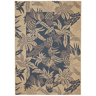 Capel Rugs Seabreeze - Pineapple 5 x 8 Demin 3560_450