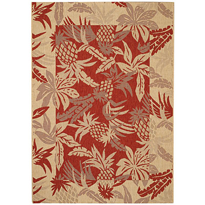 Capel Rugs Seabreeze - Pineapple 4 x 6 Redwood 3560_550