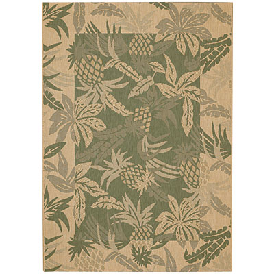 Capel Rugs Seabreeze - Pineapple 4 x 6 Spruce 3560_250