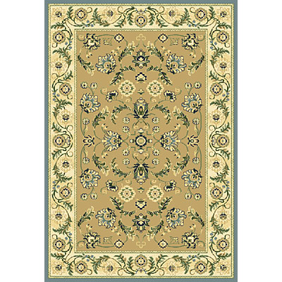 Central Oriental Inspirations - Cambridge 7 x 11 Cambridge Khaki 8700BR-92