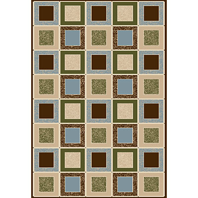 Central Oriental Generations - Checkers 7 x 11 Checkers Multi 8501MI-92