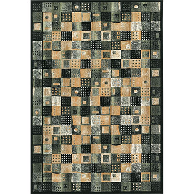Central Oriental Radiance - Domino 2 x 3 Domino Black 2006BK-23